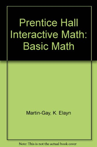 9780131419841: Prentice Hall Interactive Math: Basic Math