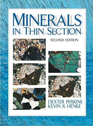 9780131420151: Minerals in Thin Section (2nd Edition)