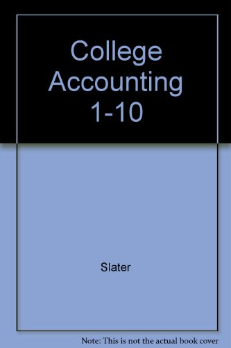 9780131420434: College Accounting 1-10