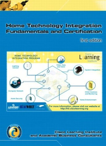 9780131421066: Home Technology Integration+ (Text & Lab Manual w/Software Certification Kit)