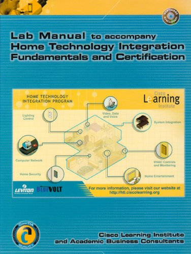9780131421080: Home Technology Integration+: Lab Manual