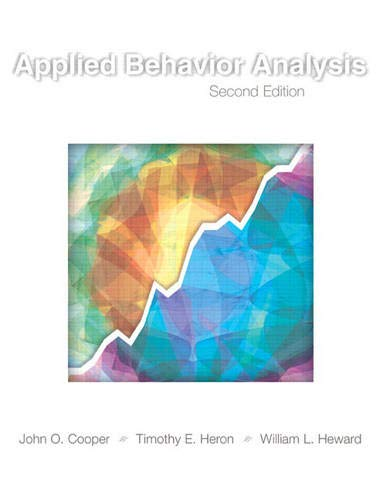 9780131421134: Applied Behavior Analysis