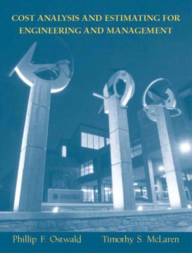 9780131421271: Cost Analysis and Estimating for Engineering and Management