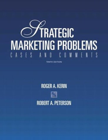 9780131421844: Strategic Marketing Problems: Cases and Comments