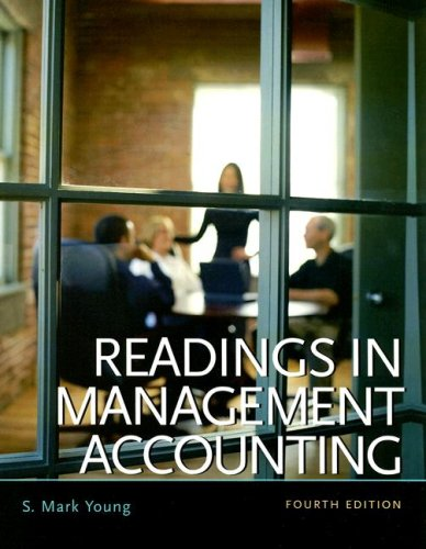 9780131422155: Readings in Management Accounting
