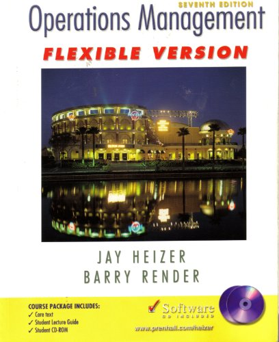 9780131422728: Operations Management: Flexible Edition