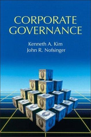 9780131423879: Corporate Governance (Prentice Hall Finance Series)