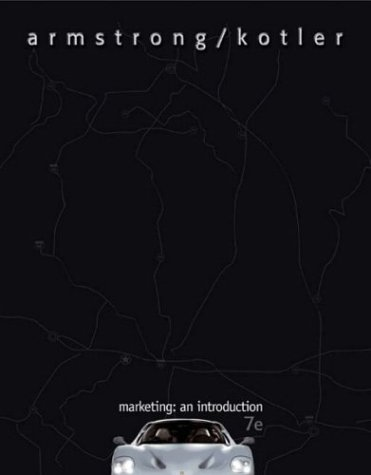 9780131424104: Marketing: An Introduction