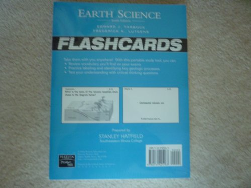 9780131425163: Earth Science: Flashcards