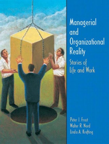 9780131425231: Managerial and Organizational Reality