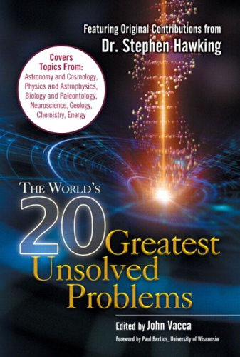 9780131426436: The World's 20 Greatest Unsolved Problems