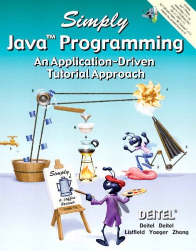 9780131426481: Simply Java Programming: An Application-Driven Tutorial Approach