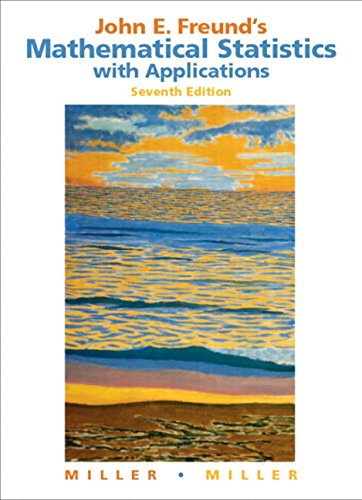 9780131427068: John E. Freund's Mathematical Statistics with Applications:United States Edition