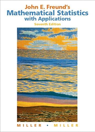 John E. Freund's Mathematical Statistics with Applications: Miller, Irwin