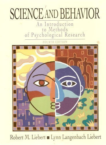 9780131427211: Science and Behavior: An Introduction to Methods of Psychological Research