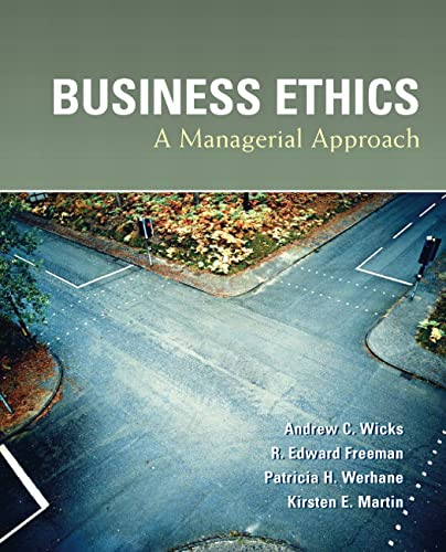 9780131427921: Business Ethics: A Managerial Approach