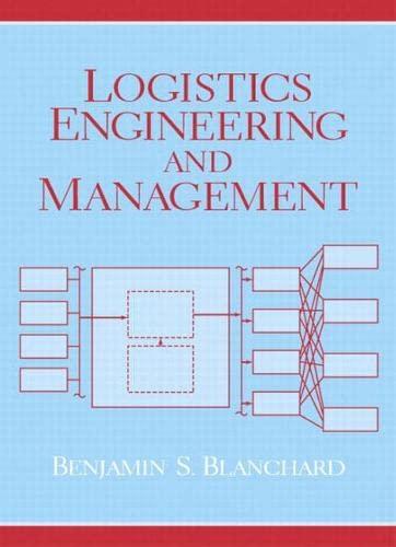 9780131429154: Logistics Engineering and Management