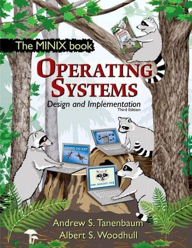9780131429383: Operating Systems Design and Implementation (3rd Edition)