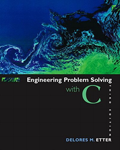 9780131429710: Engineering Problem Solving with C (3rd Edition)