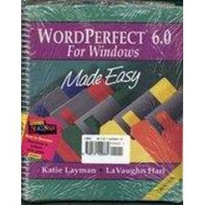 9780131429864: WordPerfect 6 0 for Windows Mady Easy