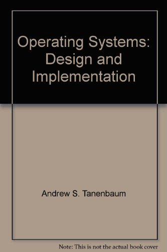 9780131429871: Operating Systems Design and Implementation