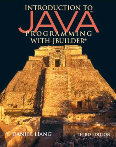 9780131430495: Introduction to Java Programming with JBuilder