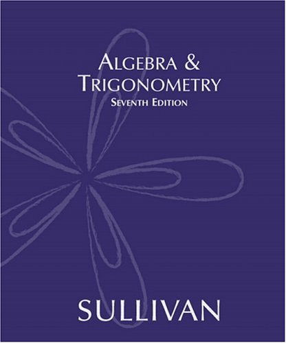 9780131430730: Algebra & Trigonometry (7th Edition)