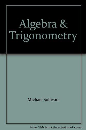 9780131430815: Algebra & Trigonometry