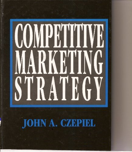 9780131430822: Competitive Marketing Strategy (The Prentice-Hall Series in Marketing)