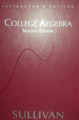 9780131431102: College Algebra