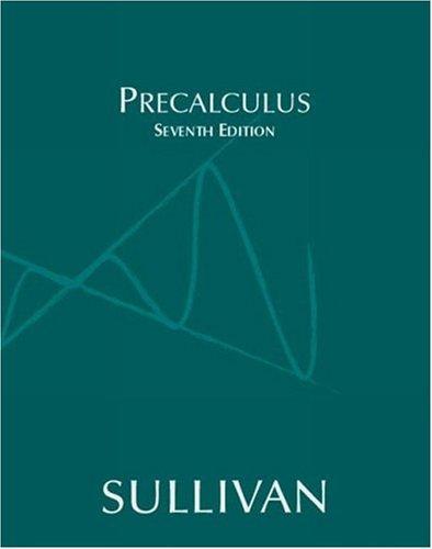 9780131431201: Precalculus (7th Edition)