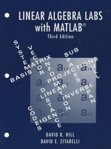 9780131432741: Linear Algebra Labs with MATLAB (3rd Edition)