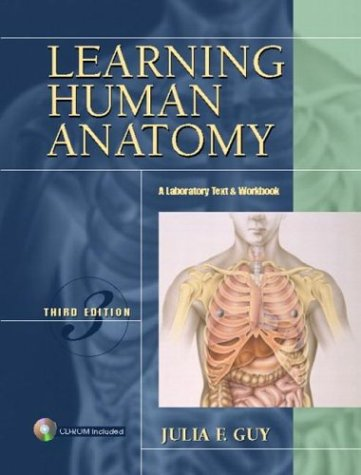 9780131433205: Learning Human Anatomy: A Laboratory Text and Workbook (3rd Edition)