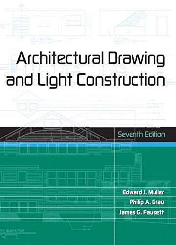9780131433847: Architectural Drawing and Light Construction (7th Edition)