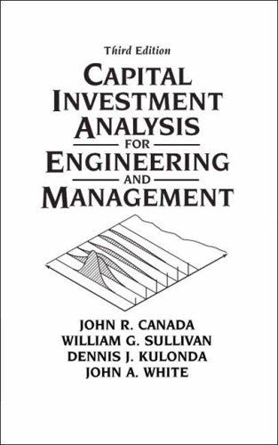 9780131434080: Capital Investment Analysis for Engineering and Management