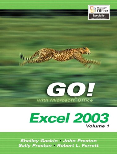 9780131434202: GO Series: Microsoft Excel 2003 Volume 1: v. 1