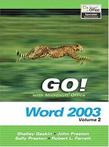 9780131434257: GO! with Microsoft Office Word 2003 Volume 2