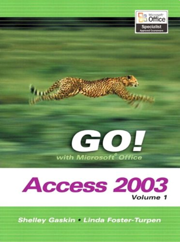 9780131434271: GO Series: Microsoft Access 2003 Volume 1