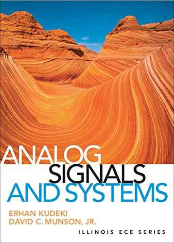 9780131435063: Analog Signals and Systems