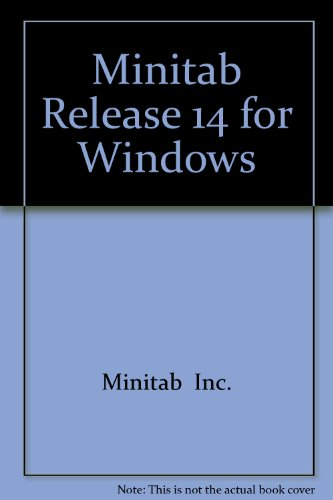 9780131436619: MINITAB Release 14 for Windows CD