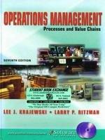 Operations Management: Processes and Value Chains: Lee J. Krajewski,