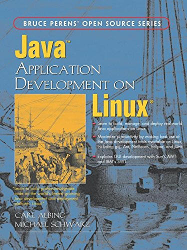 9780131436978: Java Application Development On Linux