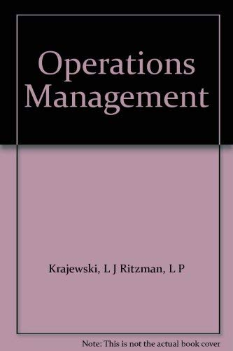9780131437050: Operations Management