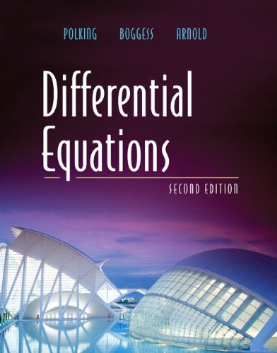 Differential Equations (2nd Edition): John Polking, Al