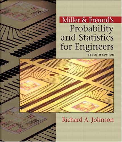9780131437456: Miller & Freund's Probability and Statistics for Engineers