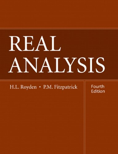 9780131437470: Real Analysis (4th Edition)