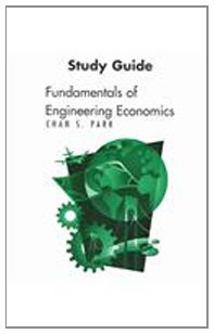 9780131437753: Fundamentals of Engineering Economics: Study Guide