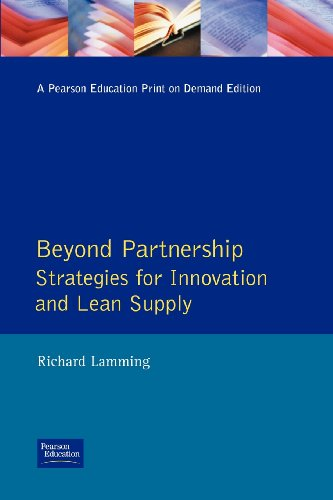 9780131437852: Beyond Partnership: Strategies for Innovation and Lean Supply (Prentice-Hall Manufacturing Practitioner)