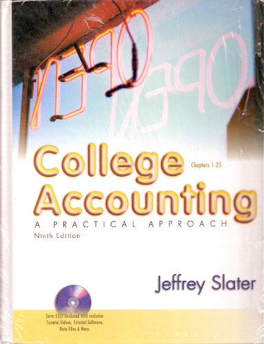 9780131439610: College Accounting: Chapters 1-25: A Practical Approach