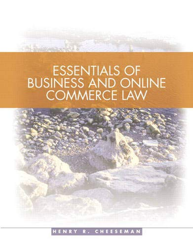 9780131440470: Essentials of Business Law